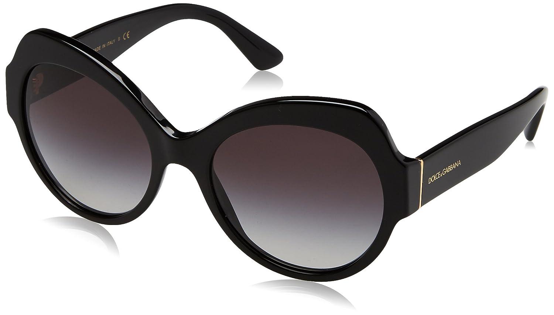 Dolce & Gabbana 0Dg4320 Gafas de Sol, Black, 56 para Mujer