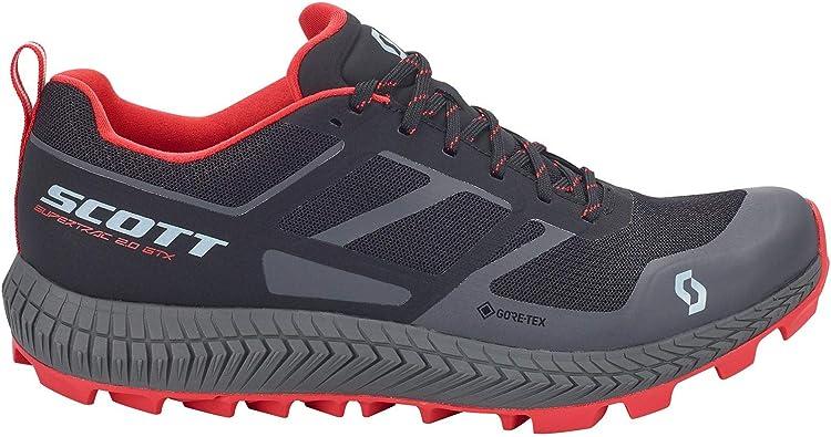 Scott Hombres Supertrac 2.0 GTX Zapato para Caminar 8 Black/Red ...