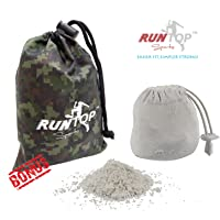 RUNTOP 2.4OZ Refillable Magnesium Carbonate Gym Chalk Ball for Weight Lifting Crossfit WODS Gymnastics Rock Climbing Powerlifting Workout No Slip
