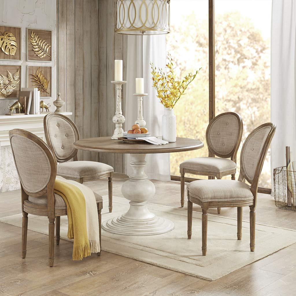 Madison Park Lexi Dining Chair (Set of 2) Taupe See Below, Brown by Madison Park