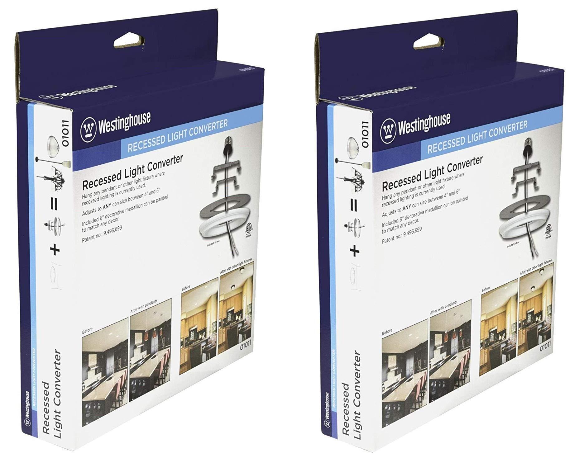 Westinghouse 0101100 Recessed Light Converter - 2 Pack