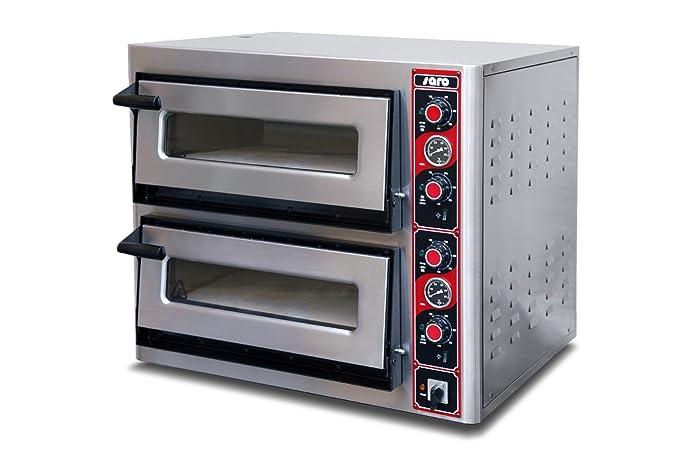 Horno de pizza 2 x 6 xø30 modelo MASSIMO 2920 SARO -: Amazon.es ...