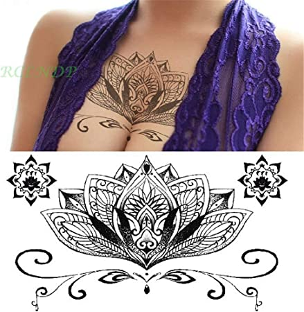 tzxdbh 5 Unids-Impermeable Etiqueta Engomada del Tatuaje Temporal ...