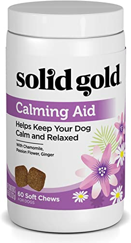 Solid Gold Supplements Calming Aid Soft Chews Grain-Free Dog Supplement