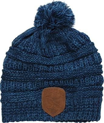 6e35c0f706d8e Image Unavailable. Image not available for. Color  HARRY POTTER Ravenclaw  Knit Beanie with Mock Leather Badge ...