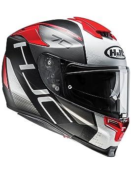 Casco Moto Hjc Rpha 70 Vias Rojo (L , Rojo)