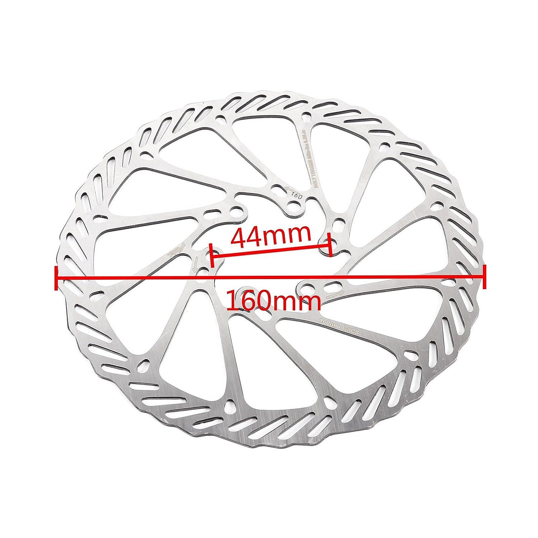 44mm surepromise CLE DE Tous 48mm Delantero//Trasero Freno de Disco Mec/ánico para Bicicleta de Monta/ña Carretera MTB BMX BTM