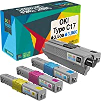 Do it Wiser Compatible Toner Cartridge Replacement for Oki MC362w C531dn MC361 C330dn C331dn MC351dn C310dn C330 C530dn MC561 C510dn C511dn C312dn MC361dn MC352dn MC362dn MC562dn (4-Pack)