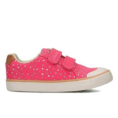 Clarks Mädchen Gracie Pip Inf Low-Top, Pink (Pink Combi), 30 EU