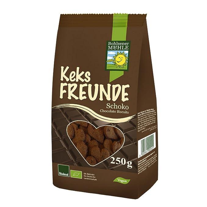 Bohlsener Mühle Galletas de Chocolate - 6 Paquetes de 250 gr - Total: 1500 gr