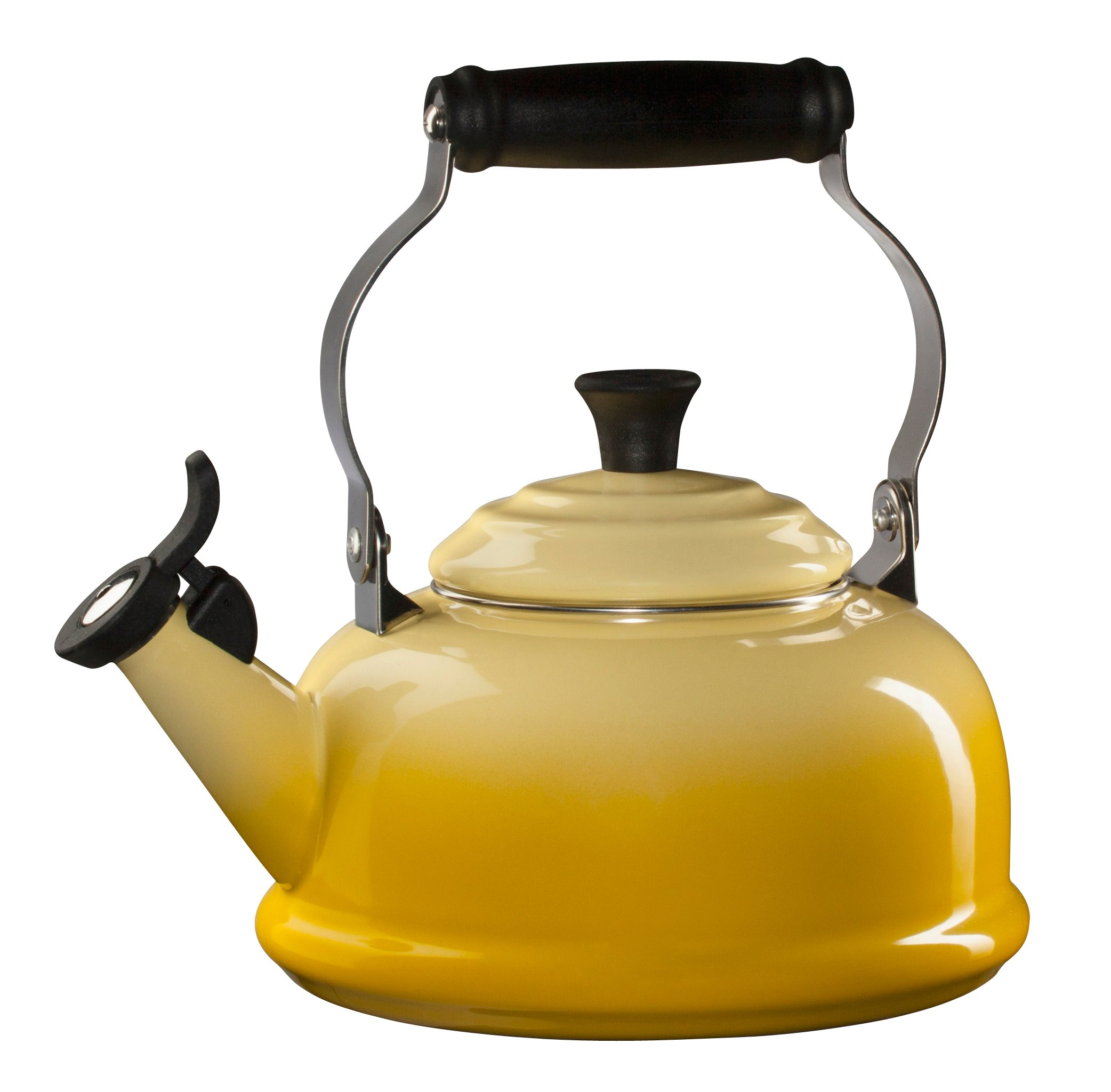 Le Creuset Sun Enamel On Steel Whistling 1.75 Quart Tea Kettle by Le Creuset (Image #1)