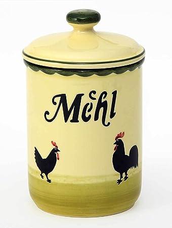Zeller Keramik Vorratsdose Hahn Und Henne Frischebox