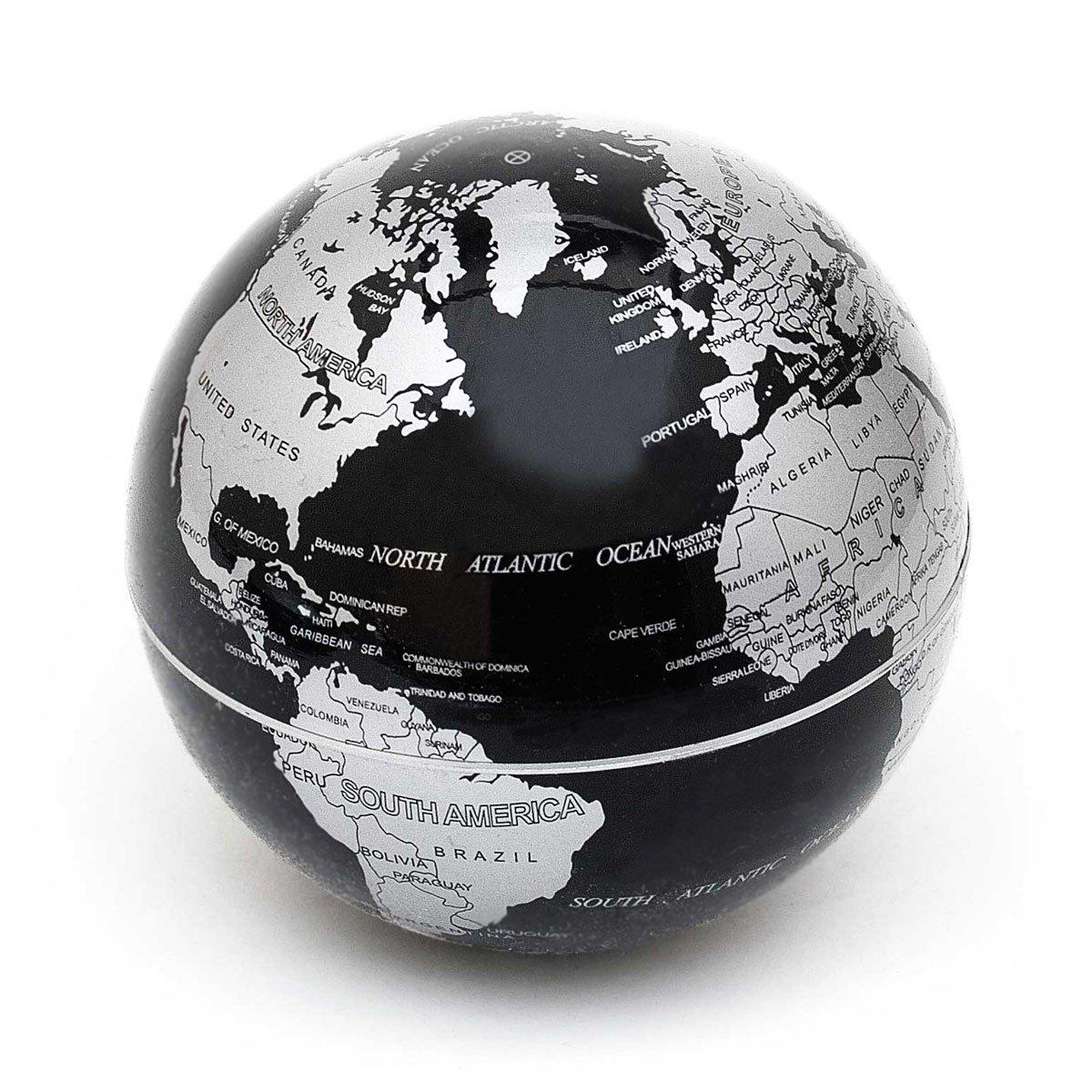 Globe magnétique globe magnétique flottant magiquement bille design anti-gravité Terra Globe Globe globes métalliques ; flottant magnétiquement Goods /& Gadgets