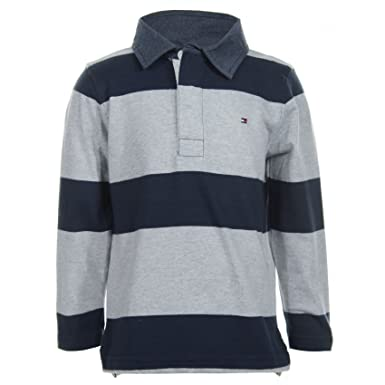 TOMMY HILFIGER - Polo de manga larga Phill, bebé niño, Color: Azul ...