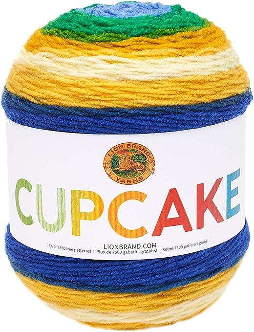 New Lion Brand Yarn 525-208 Mandala Yarn Cakes Valkyrie Pack of 3 skeins