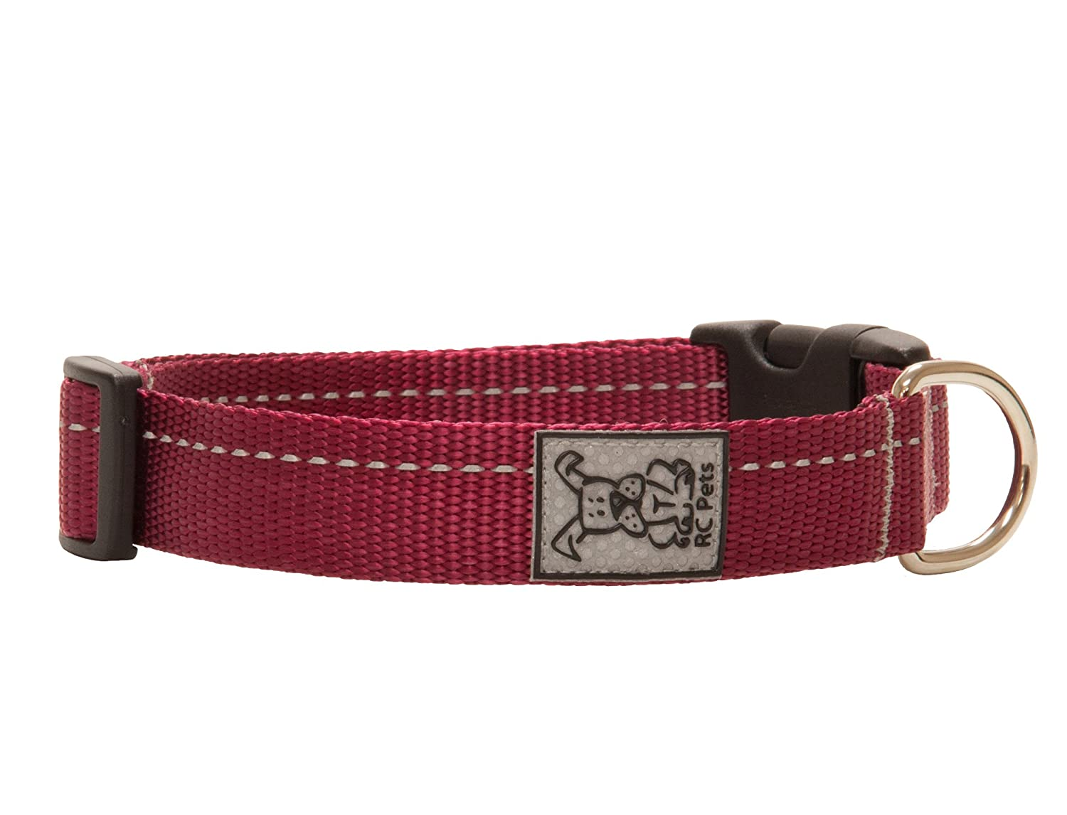 Burgundy XXSmall  1 2\ Burgundy XXSmall  1 2\ RC Pet Products 1 2  Primary Collection Adjustable Dog Collar, XX-Small, Burgundy