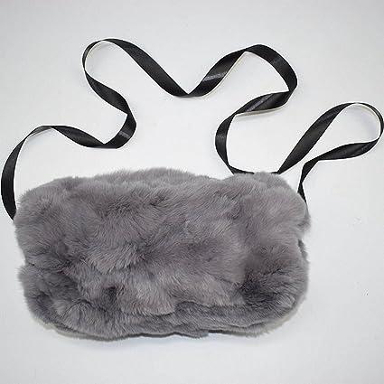 f412bdb9e Real Fur Hand muff Winter Hand Warmer Real Rex Rabbit Fur Muff Woman ...
