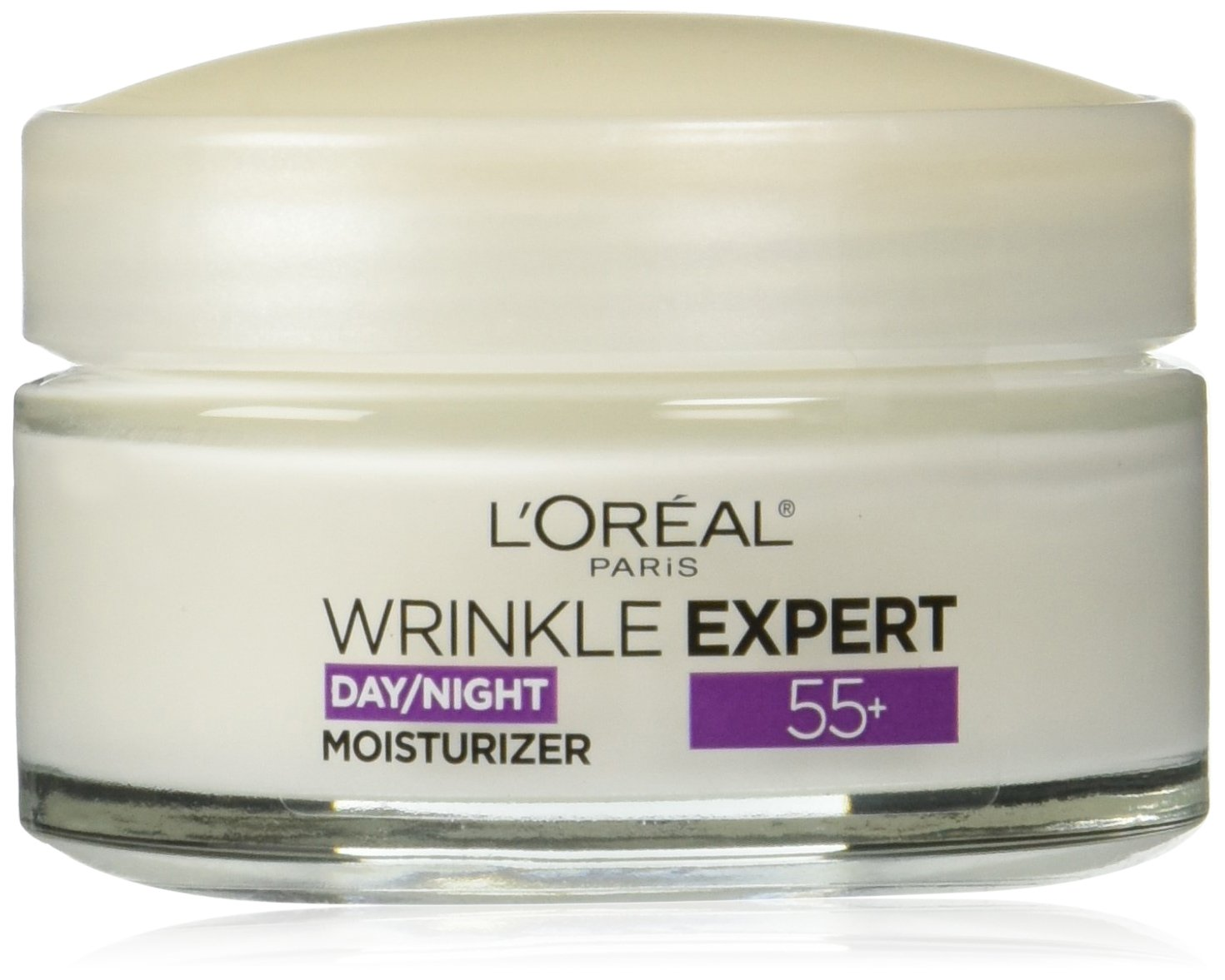 L'Oreal Paris Wrinkle Expert 55+ Anti-Wrinkle Smoothing Calcium Face Moisturizer