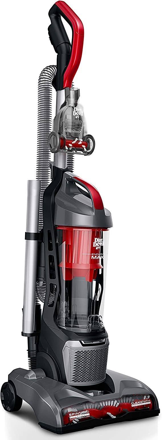 Dirt Devil Endura Max Upright Bagless Vacuum Cleaner for Carpet and Hard Floor
