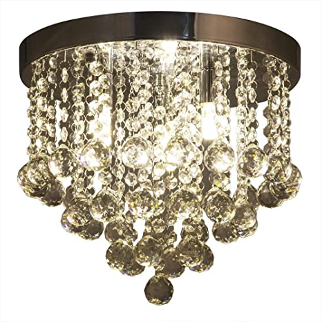 ZEEFO Crystal Chandelier, Modern Chandeliers Crystal Ball Light ...