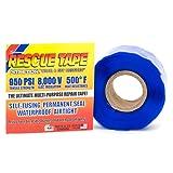 "Rescue Tape Self-Fusing Silicone Tape, 1"" x 12' x 20mil, Rectangular"