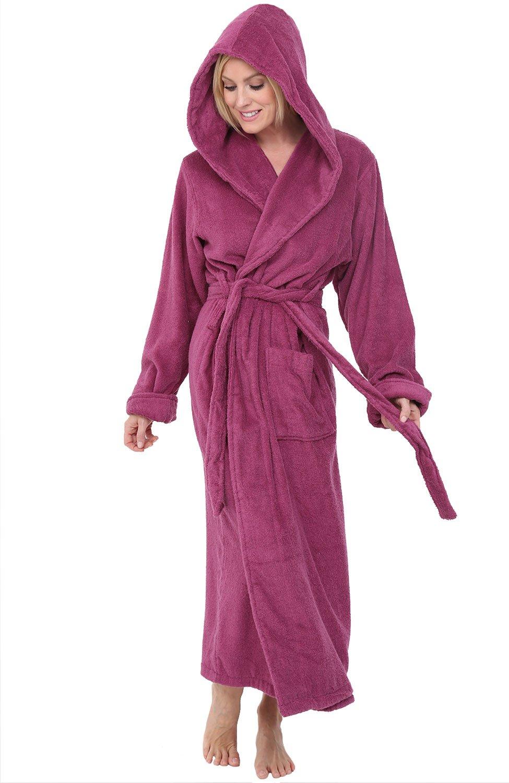 0bf73b020d Alexander Del Rossa Womens Turkish Terry Cloth Robe