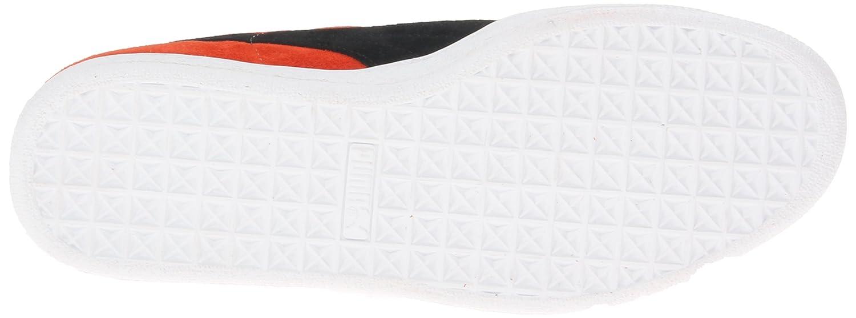 PUMA Adult Suede Classic Shoe B00C5ULX18 9.5 M US|Cherry Tomato/Black