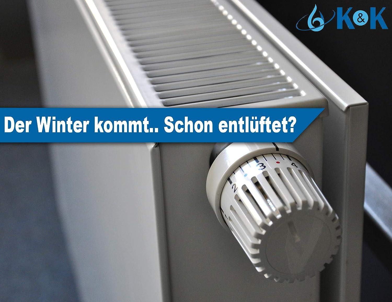 Entl/üftungsbox f/ür Heizk/örper Entl/üftungsbox Entl/üfter Heizung Schl/üssel Heizk/örper-Entl/üfter