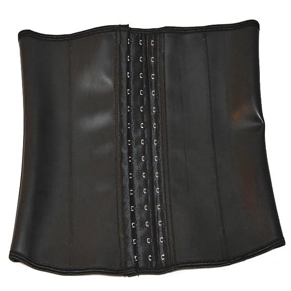 1912b54492 queenral Male Steel Boned Male Slim Belt Latex Waist Trainer Corsets   Amazon.co.uk  Clothing