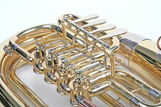 Bb Kaiserbariton Bariton Silber Euphonium Drehventile Band & Orchester Baritone