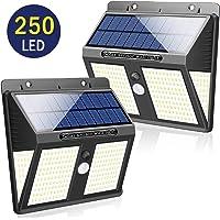 SYOSIN Luz Solar Exterior, 250 LED Sensor Movimiento