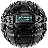 (黒色)DOMINATEアスリートマッサージボール 正規品: 13cm(5インチ)大きいマッサージボール トリガーポイント 筋膜リリース 1個入り 新品
