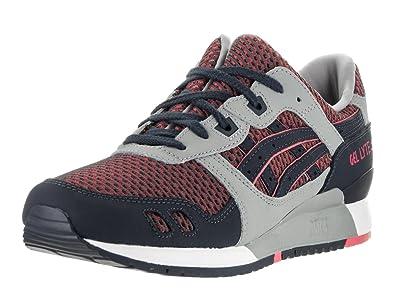 huge discount d44e3 efe26 ASICS Mens Gel-Lyte III Running Sneaker Shoes, Medium Grey Guava, US