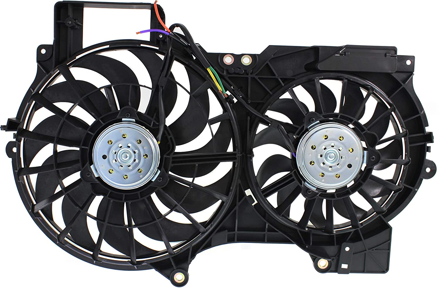 Garage-Pro Cooling Fan Assembly for AUDI A6 2005-2011 Dual Fan 3.0L/3.2L Engine