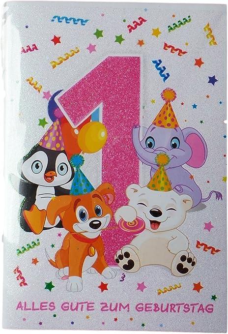 Biglietto Di Auguri Di Buon Compleanno 1 Anno Buon Compleanno