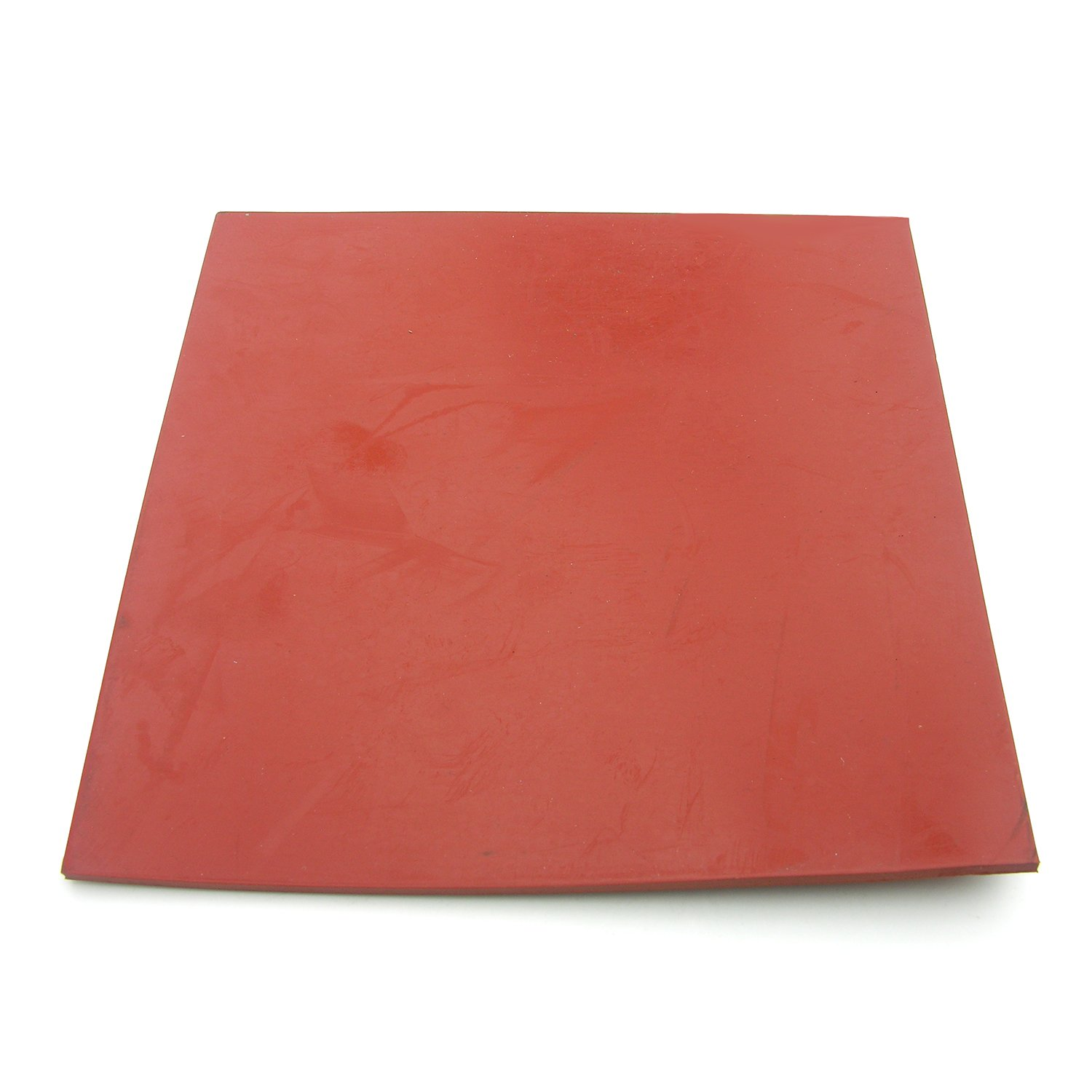 LASCO 02 1050E Rubber Sheet 6 Inches x 6 Inches and 1 8 Inch Thick