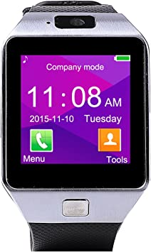DZ09 Smartwatch Pulsera NFC Con Pantalla Cámara Táctil para IOS ...