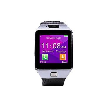 Bracelet NFC DZ09 Montre Connectée avec Écran Tactile pour Caméra ...
