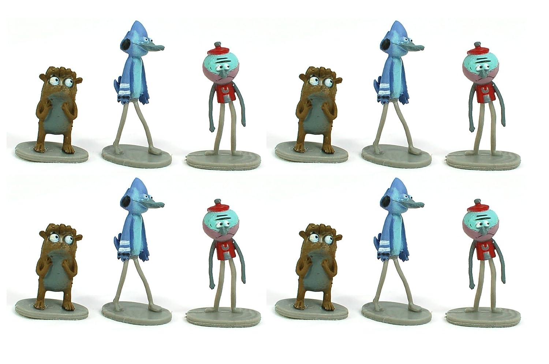 99ce03e27711 Amazon.com  One Dozen (12) Regular Show Vending Mini Figures - Mordecai