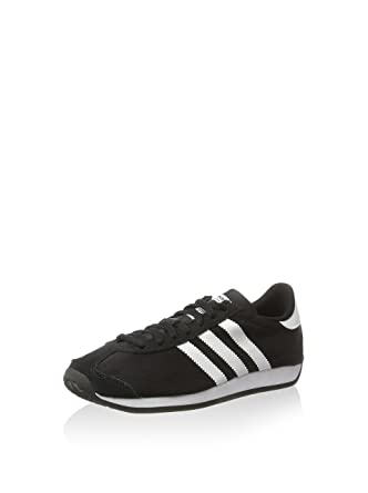 magasin d'usine a3064 bd459 Amazon.com: Adidas Country Og Mens Sneakers Black: Clothing