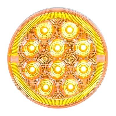 "GG Grand General 74886 Sealed Light (4\"" Prime+ Amber/Clear 14 LED): Automotive [5Bkhe1010483]"