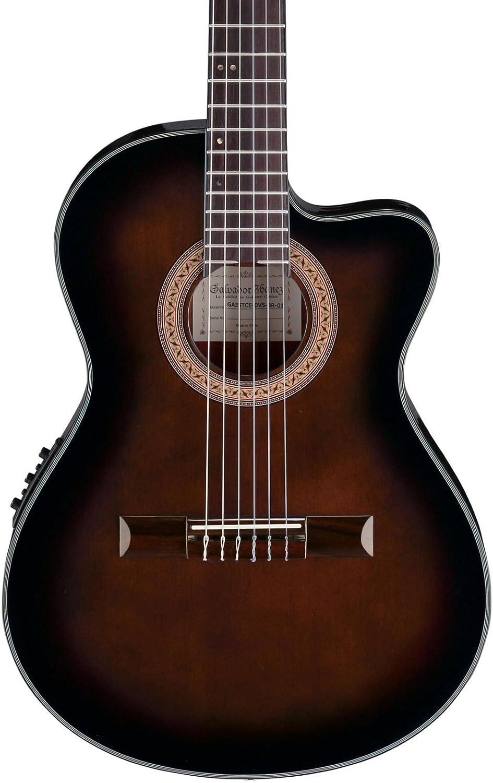 Ibanez ga35tcedvs violín acústica/guitarra eléctrica - color Burst: Amazon.es: Instrumentos musicales