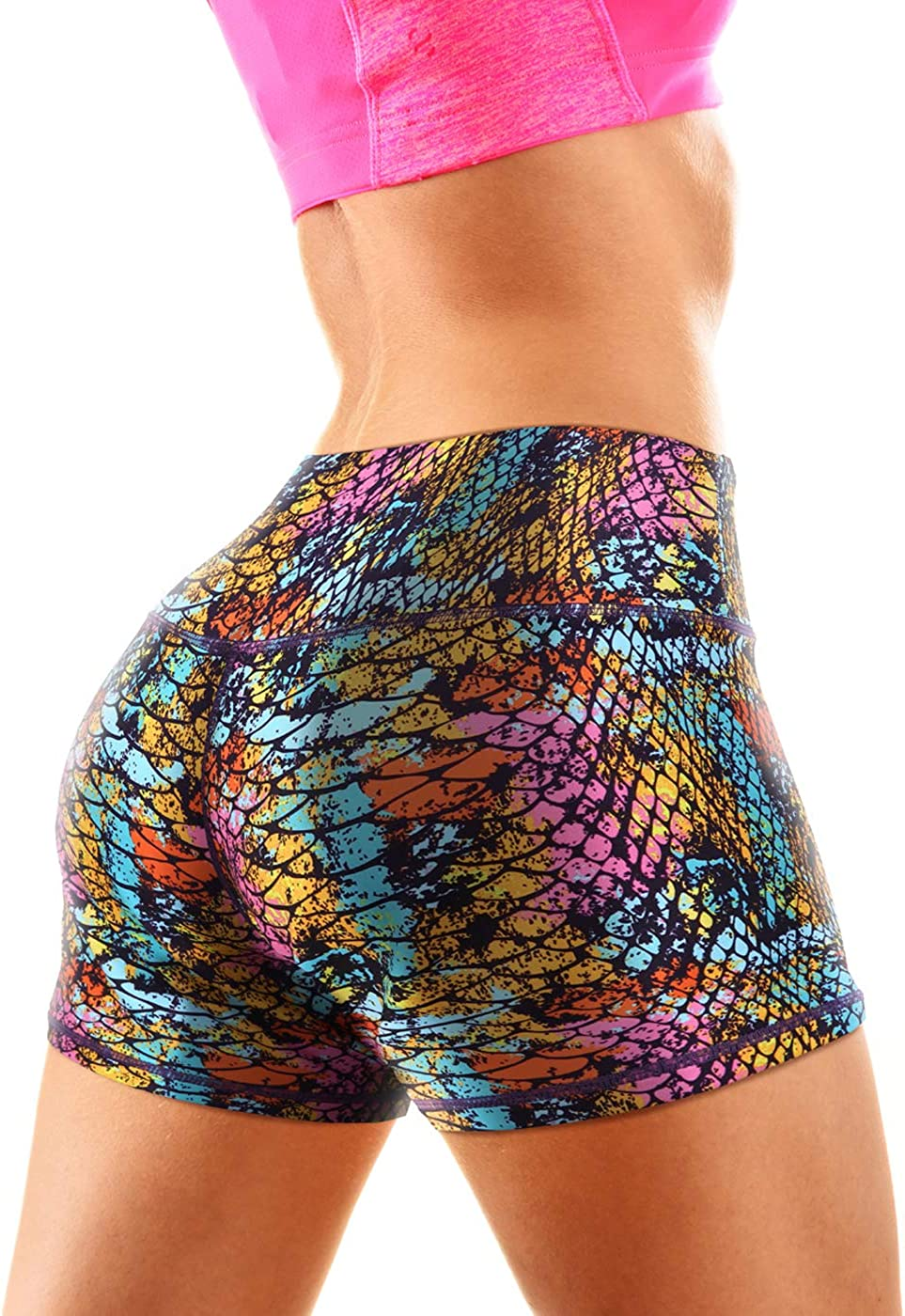 HDE Womens Workout Shorts 4 Inch Inseam – Athletic Shorts for Women for Gym Yoga Running Volleyball: Clothing
