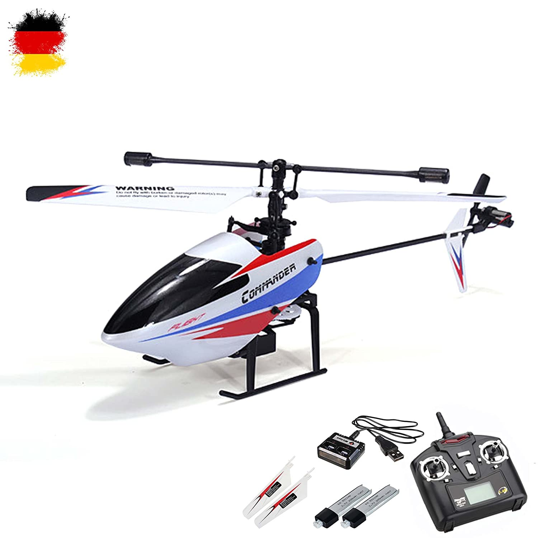 4.5 canal ferngesteuerter Single-Rotor RC helicópteros con 2,4GHz-Technik y Gyro-System, Ready-to-fly, incluida litio y control remoto