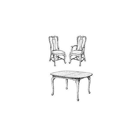 Stupendous Queen Anne Dining Room Woodworking Plan Amazon Com Creativecarmelina Interior Chair Design Creativecarmelinacom