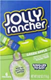 Jolly Rancher Singles to Go Drink Mix, Green Apple, 0.62 Ounce (Pack of 12)