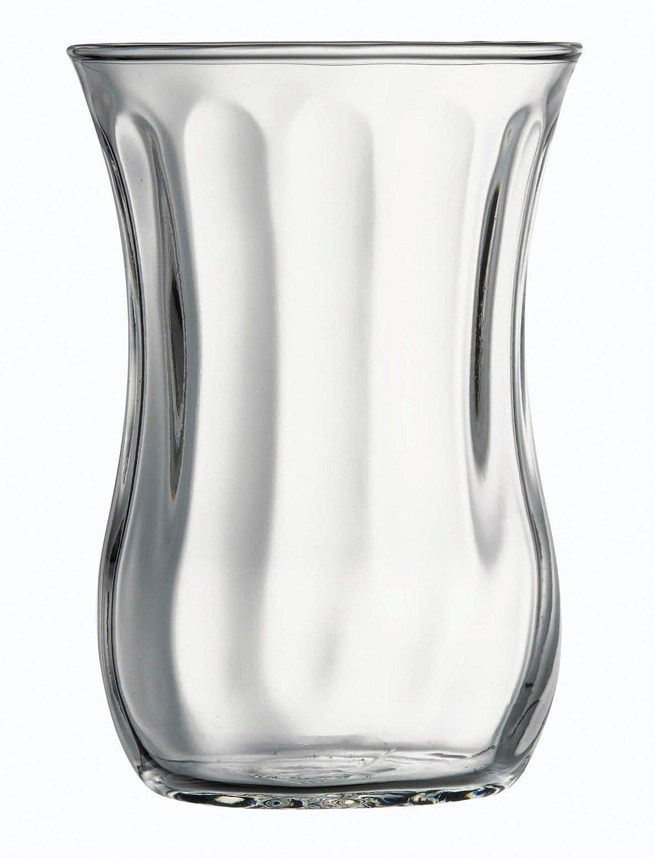 Pasabahce 12 x Vasos de té Turco Aspecto 115 Cl: Amazon.es: Hogar