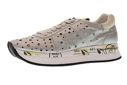 Donna 40 Amazon E Premiata Borse Conny Basse Argento Scarpe 2966 it Taglia Sneakers Rw54Ax5O