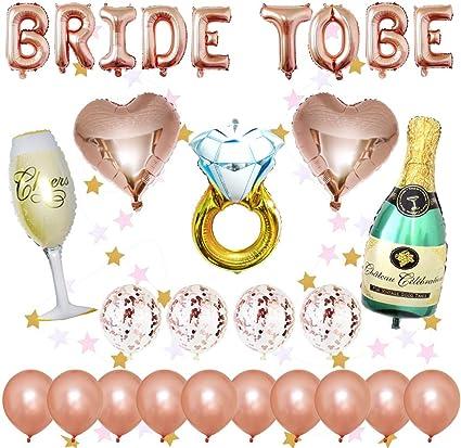 Mylar Foil Balloon Kits Bridal Shower Wedding Decorations