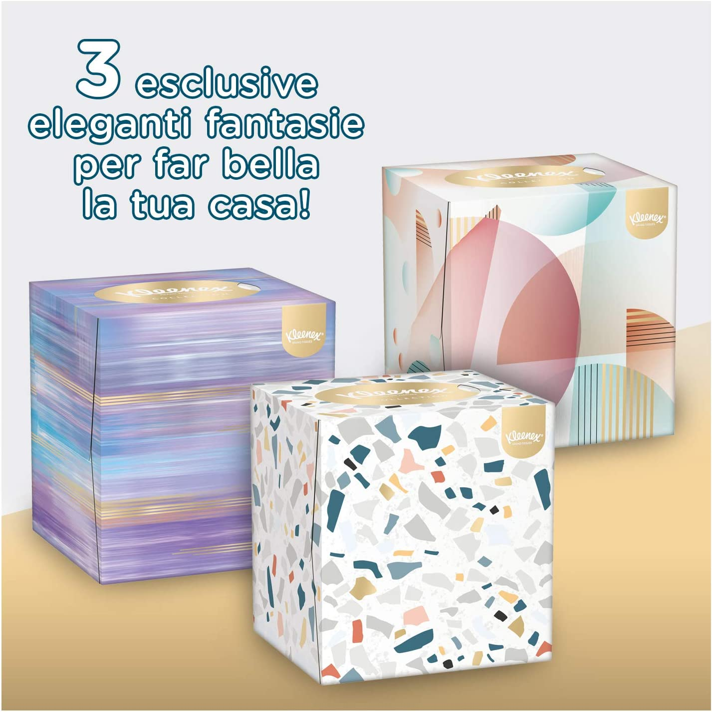 Kleenex - Colección de cosméticos paños (PAÑUELO KLEENEX COLLECTION 56 uds x 12 paquetes): Amazon.es: Alimentación y bebidas